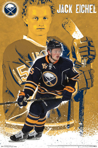 "Jack Eichel ""Sabre Star"" Buffalo Sabres Poster - Trends International 2015"