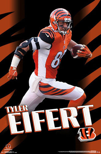 "Tyler Eifert ""Breakout"" Cincinnati Bengals NFL Action Wall Poster - Trends International"
