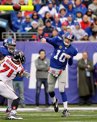 "Eli Manning ""Gunslinger"" (2012) New York Giants Premium Poster Print - Photofile 16x20"