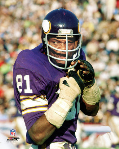 "Carl Eller ""Intimidation"" (c.1973) Minnesota Vikings Premium Poster Print - Photofile Inc."