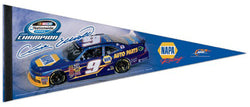 Chase Elliott 2015 NASCAR Nationwide Series Champion Premium Felt Collector's Pennant