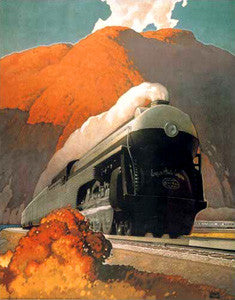 Empire State Express (1941) by Leslie Ragan - Eurographics Inc.