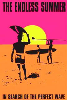 The Endless Summer Surfing Poster - Import Images