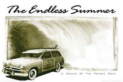 "Endless Summer ""Woody"" Surfing Poster - Import Images"