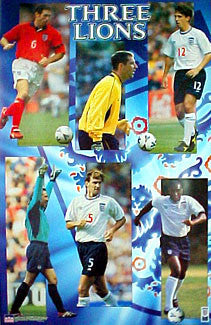 """Three Lions"" (England Defence) - Starline 2000"
