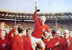 Team England World Cup Celebration 1966 Soccer Poster - Pyramid Posters