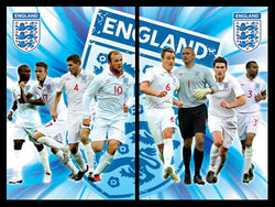 England F.A. Super-Action 2-Poster Combo - Pyramid (UK) 2010