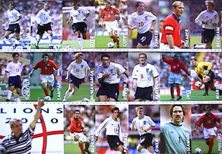 "Team England ""Lions 2000"" National Team Football Action Montage - UK 2000"