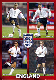 "Team England ""Midfield"" - UK 2004"