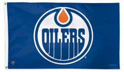 Edmonton Oilers Official NHL Hockey Deluxe-Edition 3'x5' Flag - Wincraft Inc.