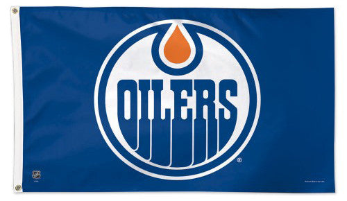 Edmonton Oilers Official NHL Hockey 3'x5' Flag - Wincraft Inc.