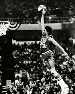Julius Erving Dr. J 1976 ABA Slam-Dunk Contest Winner Premium Poster Print - Photofile Inc.