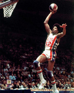"Julius Erving ""ABA Flight"" (1975) New York Nets Premium Poster - Photofile Inc."