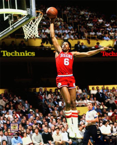 "Julius Erving ""Garden Glory"" (1981) Philadelphia 76ers Premium Poster Print - Photofile Inc."