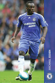 "Michael Essien ""Action"" - GB Posters 2007"