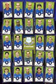 "Everton FC ""Super 24"" (2005/06) - GB Posters"