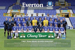 Everton FC Team Portrait 2005/06 - GB Posters