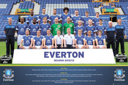 Everton FC Soccer Official Team Portrait Poster 2012/13 - GB Eye (UK)