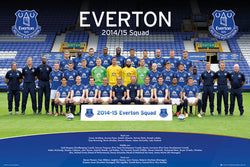 Everton FC Blues Official Team Portrait 2014/15 Poster - GB Eye (UK)