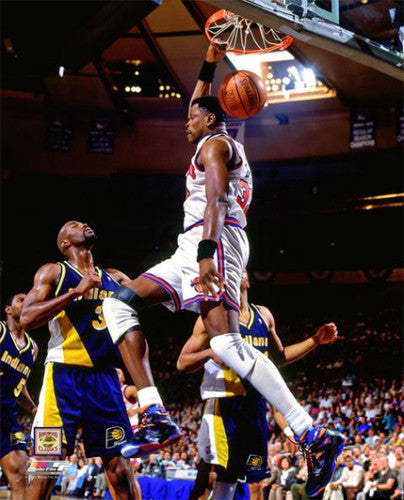 "Patrick Ewing ""Posterize"" (1995) New York Knicks Premium Poster Print - Photofile Inc."