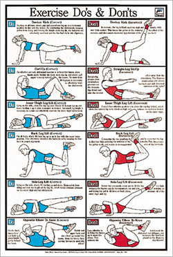 Stretching Fitness Posters – Sports Poster Warehouse