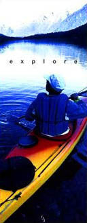 """Explore"" Kayaking - Front Line 1997"