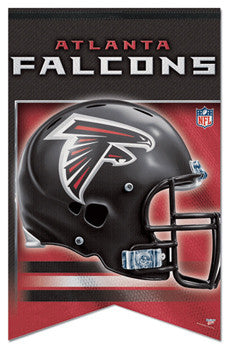 Atlanta Falcons NFL Football Premium Felt Banner - Wincraft Inc.