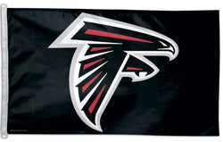 Atlanta Falcons Official NFL Football 3'x5' Flag - Wincraft Inc.