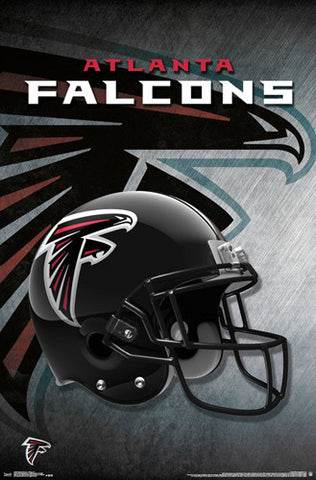 Atlanta Falcons Official NFL Football Team Helmet Logo Poster - Trends International