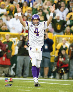 "Brett Favre ""Lambeau Viking"" (2009) - Photofile 16x20"