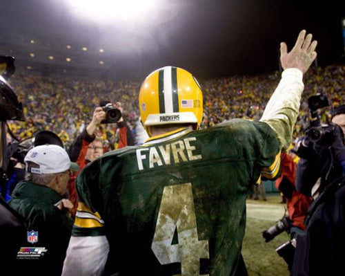 "Brett Favre ""Farewell"" (2006) Green Bay Packers Premium Poster Print - Photofile"