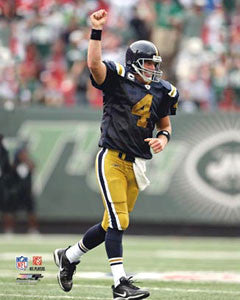 "Brett Favre ""New York Titan"" - Photofile 16x20"