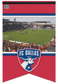 "FC Dallas ""Gameday"" MLS Soccer Premium Felt Banner - Wincraft Inc."