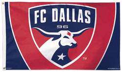 FC Dallas Official MLS Soccer DELUXE 3' x 5' Flag - Wincraft Inc.