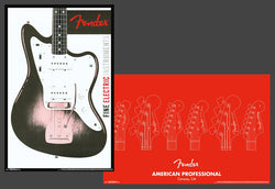 Fender Guitars Official 2-Poster Collectible Wall Poster Set - Trends International