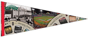 "Fenway Park ""100 Years"" Premium Felt Collector's Pennant - Wincraft 2012"