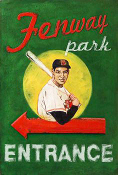 Fenway Park Entrance Door Poster (w/Ted Williams) - Image Source