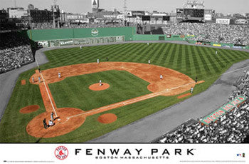 Boston Red Sox Fenway Park Gameday Poster - Costacos Spots