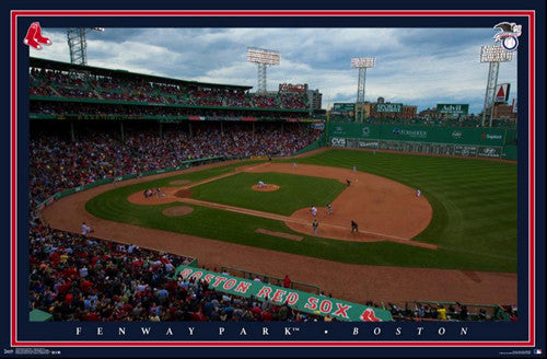 Fenway Park Gameday Boston Red Sox Official MLB Stadium Poster - Trends International