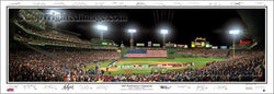 Boston Red Sox 2007 World Series Champions Panoramic Poster Print (w/25 Sigs.) - Everlasting Images