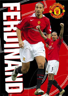 "Rio Ferdinand ""Action 5"" - GB Posters 2005"