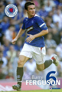 "Barry Ferguson ""Super Action"" - GB 2007"