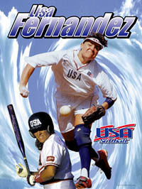 "Lisa Fernandez ""Legend"" - USA Softball 2005"