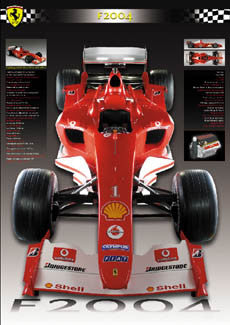 "Ferrari F2004 ""The Car"" - MondialMix 2004"