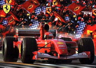 "Ferrari ""F1 Glory"" - Scandecor 2003"