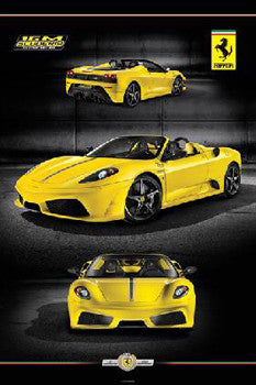 Ferrari 16M Scuderia Spider Automotive Poster - Pyramid 2009