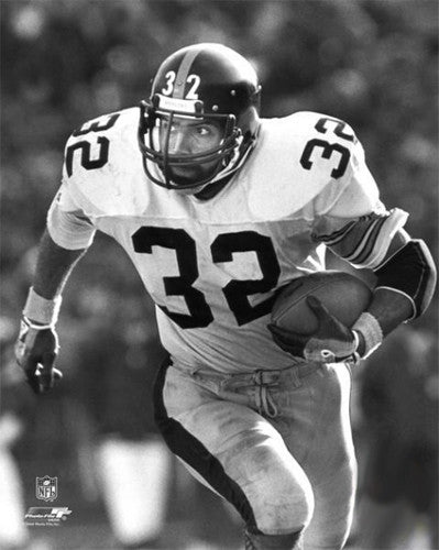 "Franco Harris ""Intensity"" (c.1976) Pittsburgh Steelers Premium Poster Print - Photofile Inc."