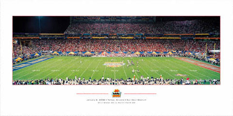 "Ohio State Buckeyes ""The Last Stance II"" (Fiesta Bowl 2006) Poster - Rick Anderson"