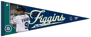 Chone Figgins Premium Felt Collector's Pennant (LE /2010) - Wincraft