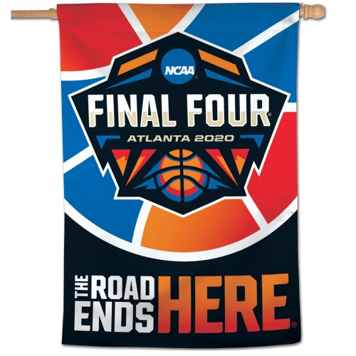 NCAA Men's Basketball Final Four (Atlanta 2020) Official NFL Championship Event 28x40 BANNER Flag - Wincraft Inc.